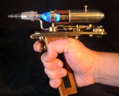 Steampunk Star Trek - phaser  Which of course implies a Steampunk Star Trek, with Steampunk Kirk, Uhura, Spock....