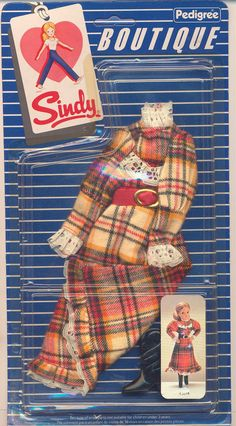 This was one of my most longed for Sindy outfits as a child! Sindy Doll, Dolls Dolls, Tammy Doll, Barbie Clothes, Family History, Dressmaking, Fashion Boutique, Fashion Dolls, Childhood Memories
