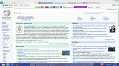 Wikipedia reference website