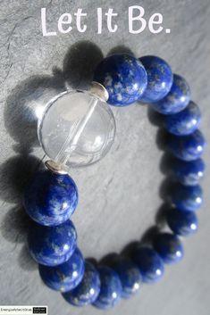 * LAPISLAZULI BERGKRISTALL ARMBAND * Lapislazuli Rock Crystal Bracelet * Crystal Bracelets, Healing, Gemstones, Rock, Ebay, Crystals, Jewelry, Armband, Jewels