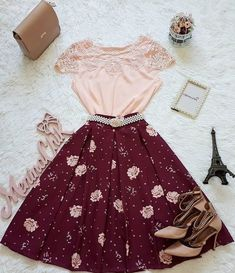 30 Trendy Summer Outfits Ideas for Teen Girls to Try Girls Fashion Clothes, Teen Fashion Outfits, Mode Outfits, Cute Fashion, Modest Fashion, Girl Fashion, Girl Outfits, Fashion Dresses, Cute Skirt Outfits