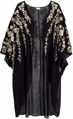 Embroidered Kimono - H&M