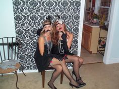 Funny photos at the Roaring Twenties Party
