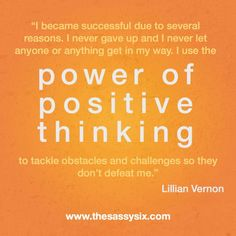 Positive Thinking Inspirational Quotes. QuotesGram