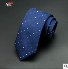 GUSLESON 1200 Needles 6cm Mens Ties New Man Fashion Dot Neckties Corbatas Gravata Jacquard Slim Tie Business Green Tie For Men