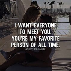 I want everyone to meet you. You're my favorite person of all time. Like and comment if you feel like this! ➡️ @npmusik for more! #nowplayingmusik