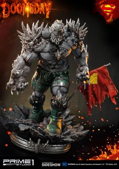 The Doomsday Statue by Prime 1 Studio is available at Sideshow.com for fans of Superman and DC Comics.