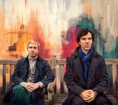http://namecchan.deviantart.com/art/John-Watson-and-Sherlock-Holmes-453227151 (10 may 2014)