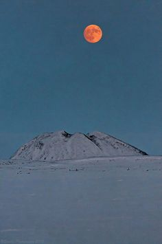 Super Moon over Ibyuk by savillent, via Flickr