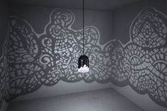Paris-based artist couple Linlin and Pierre-Yves Jacques fused interior design and 3D printing in their latest beautiful creation – a lace-patterned lamp. When turned on, it casts beautiful floral patterns on your room's walls. Via Demilked.