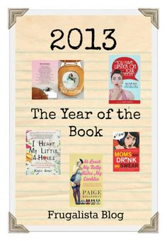2013 The Year of the Book- books you should read