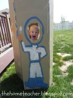 The Home Teacher: Space Unit