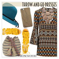 """Easy Peasy: Throw-and-Go Dresses"" by rosewoodcases ❤ liked on Polyvore featuring Gucci, Mata Traders, Jeffrey Campbell and Guanábana"