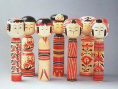 伝統的工芸品-宮城伝統こけし