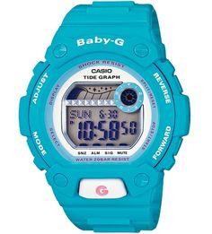Casio Womens Baby-G Shock Resistant Light Blue Digital Sport Watch G Shock Watches, Casio G Shock, Sport Watches, Wrist Watches, G Watch, Watch Sale, Casio Watch, Baby G Shock, Workout Essentials
