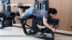 Commercial Fitness Equipment Leg Extension / Leg Curl For Sale. Leg Curl/Leg Extension Machine is a great way to shape your thighs and hamstring muscles. This dual combo machine will be a great space saver. Shop a wide selection of exercise and fitness equipment at fitness-china.com. Great prices, discounts. #ntaifitness #fitness #gym Back Extension Exercises, Leg Extension, Back Exercises, Gym Equipment Names, Commercial Fitness Equipment, No Equipment Workout, Leg Curl Machine, Hamstring Muscles, Gym