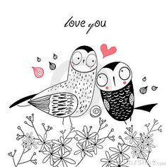 Graphic fun loving owl on a white backgroundrn
