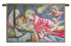 Nativity Giotto Italian Wall Hanging
