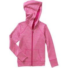 Danskin Now Girls  Tech Fleece Zip Hoodie, Pink Tech Fleece, Zip Hoodie, 1c6ffe5b06