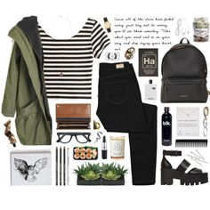 Spirit in the Sky by ctodtims on Polyvore featuring H&M, Paige Denim, Abercrombie & Fitch, Windsor Smith, Givenchy, Mulberry, Dogeared, American Apparel, Topshop and Ray-Ban
