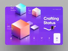 Shake by Cosmin Capitanu on Dribbble Design Ui Ux, Dashboard Design, Layout Design, Web Layout, Isometric Design, Ui Design Inspiration, Daily Inspiration, Design Ideas, Photoshop