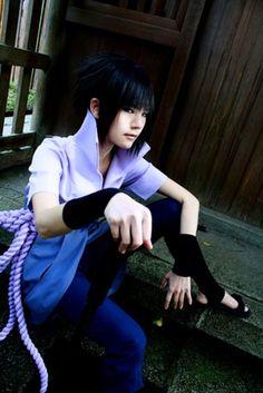 Uchiha Sasuke | Naruto Shippuuden #cosplay #anime