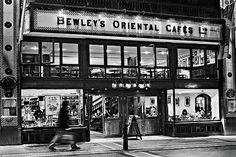 Bewley's Cafe - Dublin Print by Barry O Carroll Cafe Dublin, Dublin City, Grafton Street, The World's Greatest, Black And White Photography, Fine Art America, Instagram Images, Wall Art, Ireland