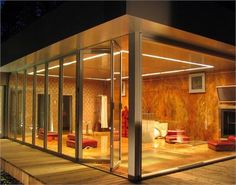 Folding Glass Wall from Solar Innovations