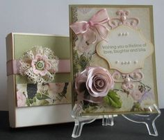 Card with box