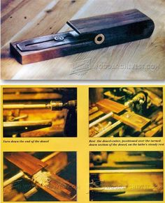 DIY Dowel Cutter for Lathe - Joinery Tips, Jigs and Techniques | WoodArchivist.com
