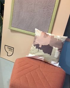 #chroniclesofthetravellingcushions | looking back at when #Ouarzazete in #millenialpink visited @yudurugs at the @100percentdesignsa. Didn't know whether to sit or lie down➡swipe left⬅, just felt right at home! If you're in Jozi town we still got 1 throwpillow in that print available at @houtlander @99juta. Go grab it ☺. Print inspired by the #KasbahTourirt in Ouarzazete, one of #Morocco's most spectacular historical legacies... - - #zuriandimani #zuriandimanifabrics #99juta #houtlander… Millenial Pink, Surface Pattern Design, Ceramic Art, Interior Decorating, Felt, Throw Pillows, Inspired, Fabric, Inspiration