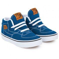 Blue Half Cab High Tops │ Vans