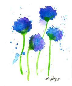 https://www.etsy.com/listing/205251951/blue-purple-flowers-watercolor