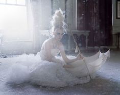 The Snow Queen photographed by Tim Walker for Vogue UK, March 2009