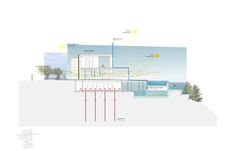 Plan of Mediterranean house