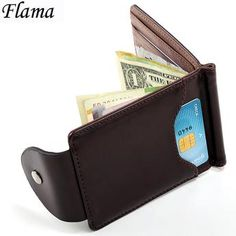 FLAMA Mini Purses Vintage Men Wallet XF127