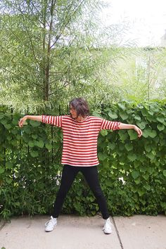 Free Hemlock Tee Pattern from @jen | grainline studio #grainline #sewing