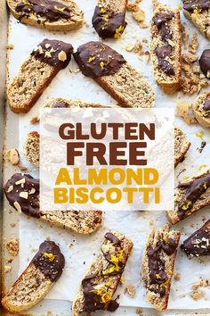 Made with 100% almond meal, this gluten free almond biscotti is the ultimate Christmas cookie recipe to make this holiday season!