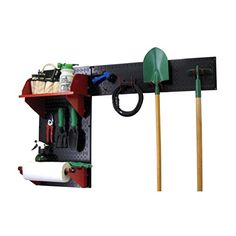 Wall Control 30GRD200 BR Pegboard Garden Supplies Storage and Organization Garden Tool Organizer Kit with Black Pegboard and Red Accessories *** Continue to the product at the image link.