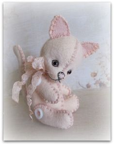 PDF e Pattern by Booh Bears to Make 5 Chloe a Wool by Boohbears, $12.00