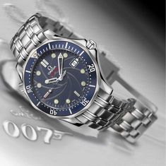 04dbd703c29 Omega Seamaster James Bond Edição Limitada Relógios Masculinos