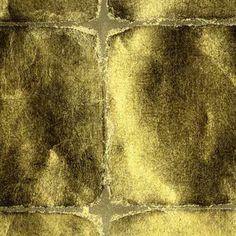 Donghia Textiles  Windowpane Gold