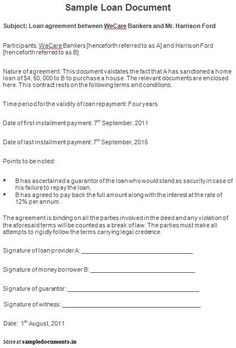 Sample Notarized Document | Notarized Documents | Pinterest