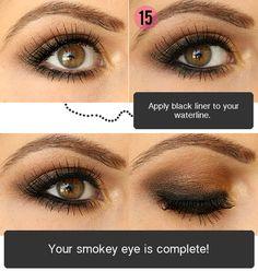 Makeup Tips, Beauty Reviews, Tutorials | Miss Natty's Beauty Diary Blog: Step by Step Smokey Brown Eyeshadow Tutorial!