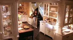 The most amazing kitchen ever --   from the house in the film Practical Magic