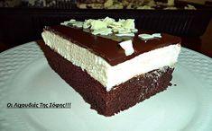 παστα σοφη τσιωπου Sweet Loaf Recipe, Sweet Recipes, Cake Recipes, Dessert Recipes, Greek Sweets, Greek Desserts, Party Desserts, Chocolate Sweets, Happy Foods