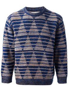 Men - Henrik Vibskov Bonfire Roundneck - Henrik Vibskov boutique - Online Store