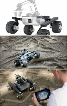 Turtle Rover Ground Drone with Open Source Hardware - Robotic Gizmos Robot Chassis, Military Robot, Mobile Robot, Open Source Hardware, Robotics Projects, Diy Robot, Folding Furniture, Bike Trailer, Rc Trucks