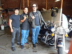 """After seven long seasons of filming and riding, where does """"Tig"""" (Kim Coates) take his 'HOG' for routine servicing and a wash? Why, Harley-Davidson of Glendale of course! Stop by our Service Dept. for all of you bike servicing and upgrades!"""