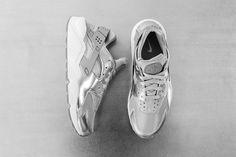 Nike Air Huarache premium white